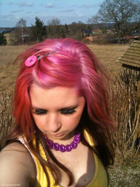 The Life Of Schinken Leben Mit Bunten Haaren