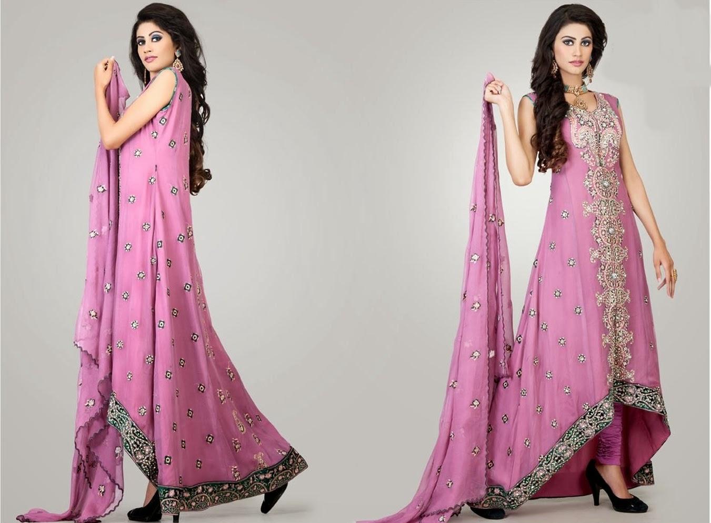 Black Pakistani Wedding Dresses Fancy Farasha Designs ...