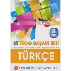 Fen Bilimleri 8.Sınıf Türkçe TEOG Başarı Seti