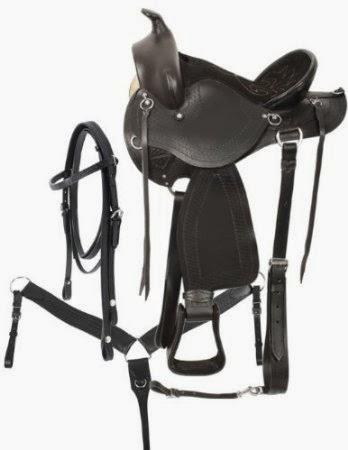 Riding Saddles: Double T GAITED Western Endurance Saddle