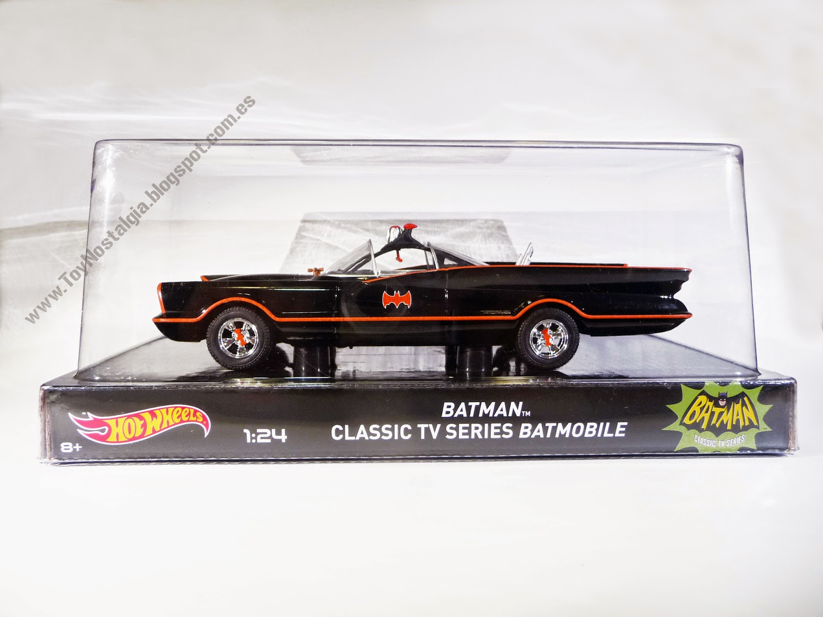 Hot Wheels Batman Batmobile 1966 TV Show 1:24 Blister (2014)