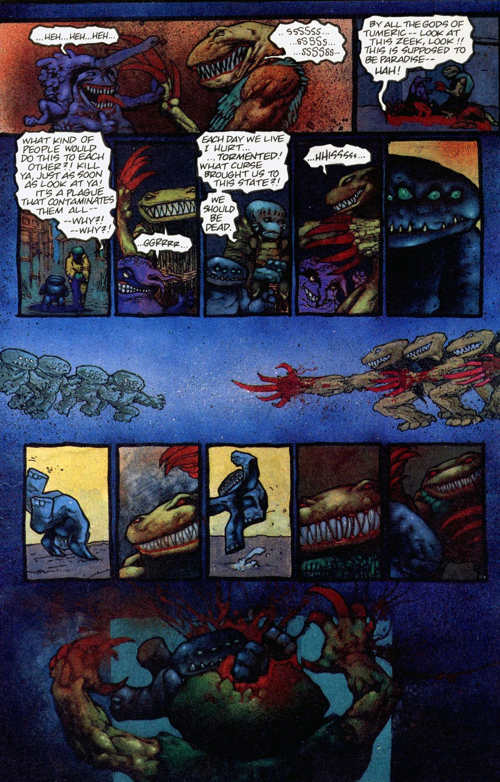 Read online Melting Pot comic -  Issue #1 - 16