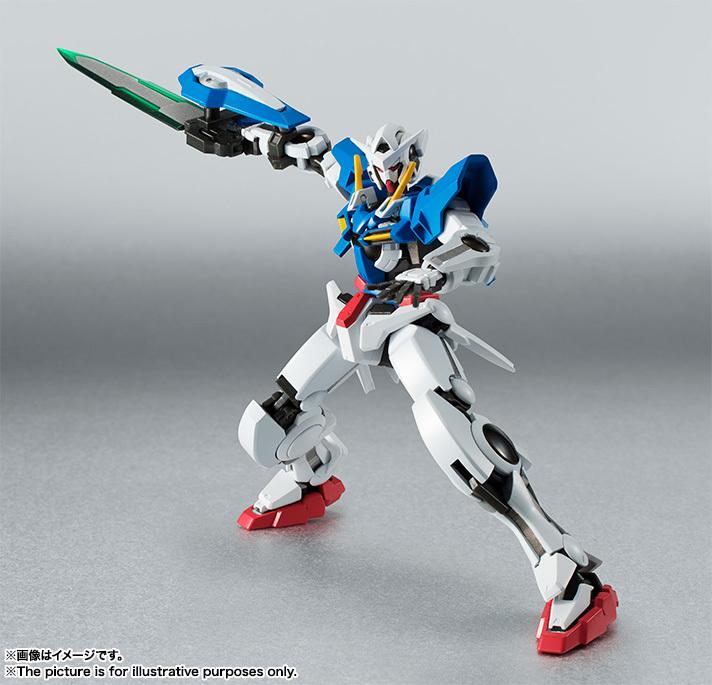 Robot Damashii (SIDE MS) Gundam Exia Repair II and Repair III Parts Set