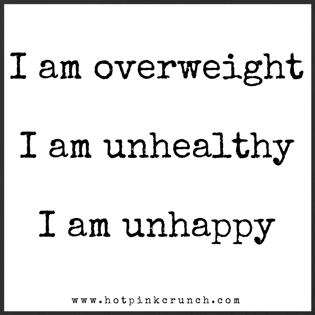 Why I'm doing the Wilder Way from Big Girls Do It Running: I am overweight. I am unhealthy. I am unhappy. Something needs to change! What I'm going to do about it. | Hot Pink Crunch