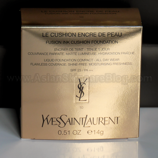 My Asian Skincare Story Yves Saint Laurent Le Cushion Encre De Peau