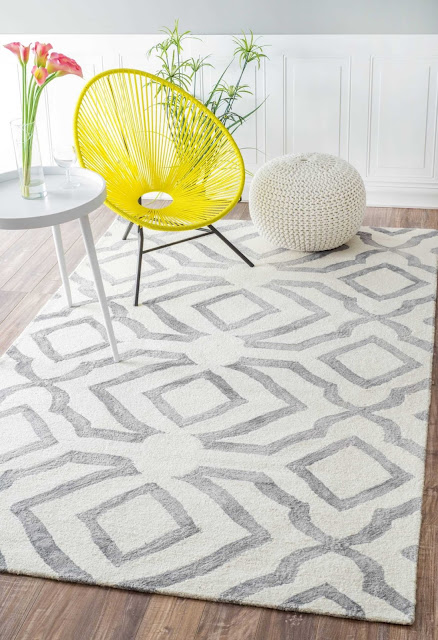 Geometric Rug via RugsUSA