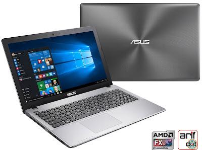 Notebook Asus X550ZE layar lega