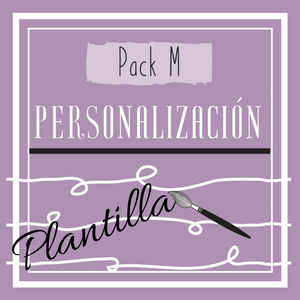 Cartel Pack M (personalización de plantilla)