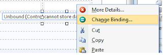 InfoPath Change Binding