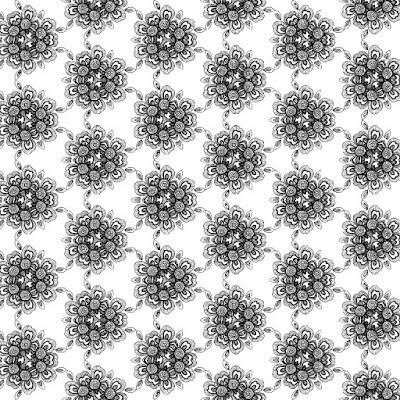 free download all original seamless sketch for surface pattern textile design and fashion printed in black and white line drawing