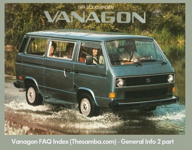 Last update november by kamzcab in thesamba also vwt vanagon faq index general info part rh