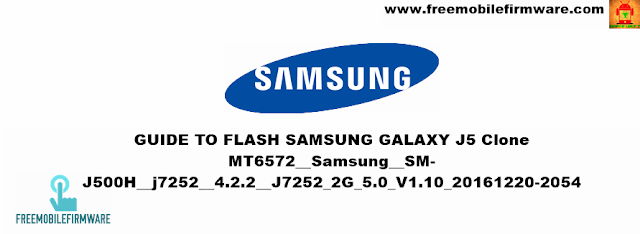 How To Flash Samsung Galaxy J5 Clone mt6572 Lollipop 5.0 Using SP Flashtool