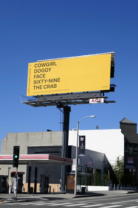 Thirty Seconds to Mars Sex positions billboard