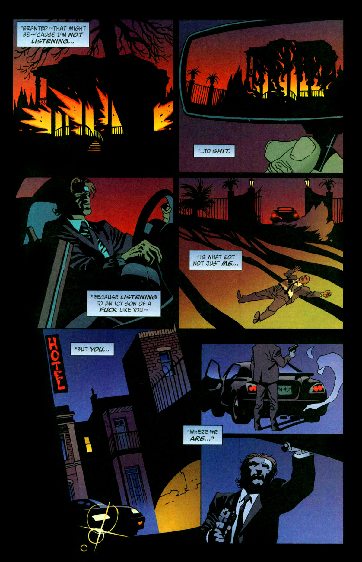 Read online 100 Bullets comic -  Issue #56 - 21