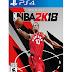 NBA 2K18 Jogo PS4 PSN mídia digital