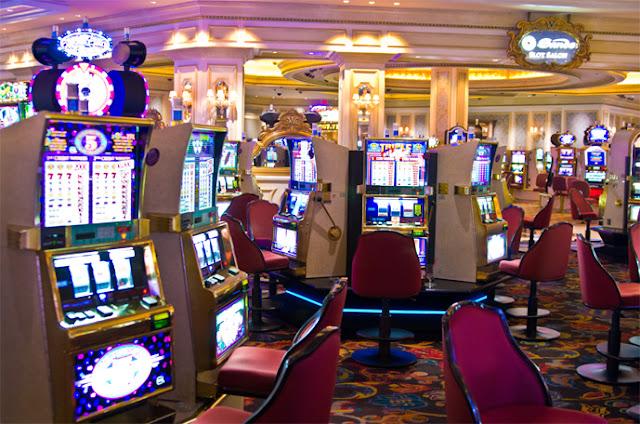 Máquinas de torneio nos cassinos em Las Vegas