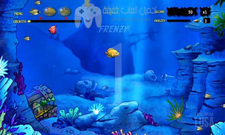 تحميل جميع اجزاء لعبة السمكة Feeding Freny برابط مباشر