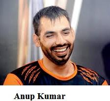Anup Kumar, Vivo Pro Kabaddi