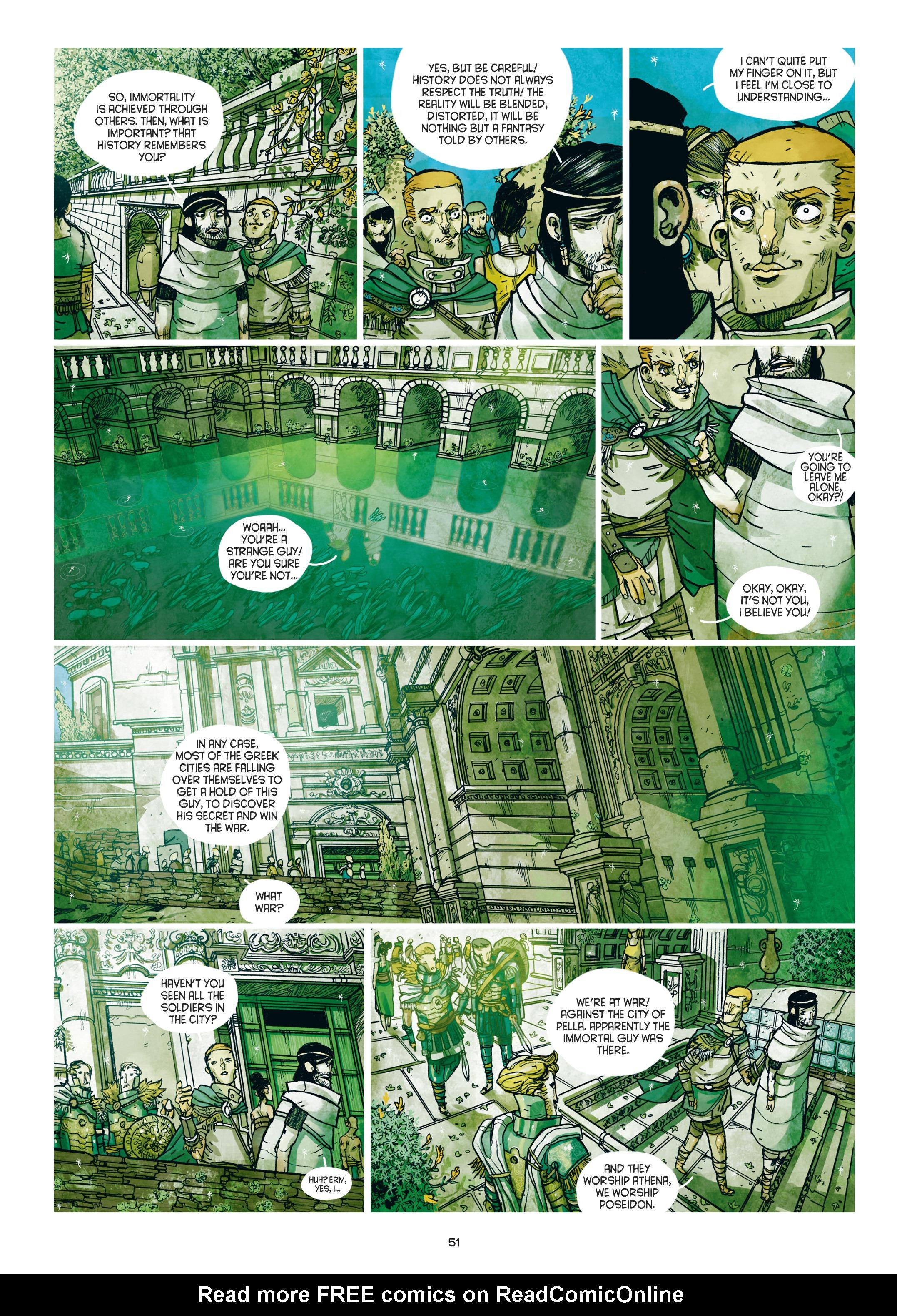 Read online Adrastée comic -  Issue #1 - 52