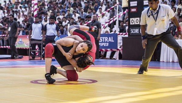 Anushka Sharma practising for Sultan.