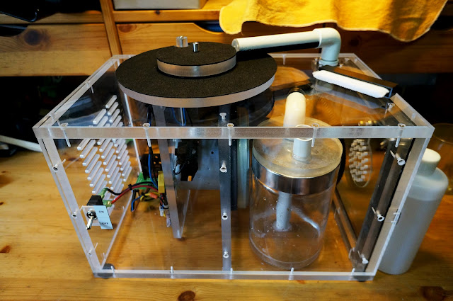 Project Repair Project Quot Diy Vacuum Record Cleaning Machine Quot