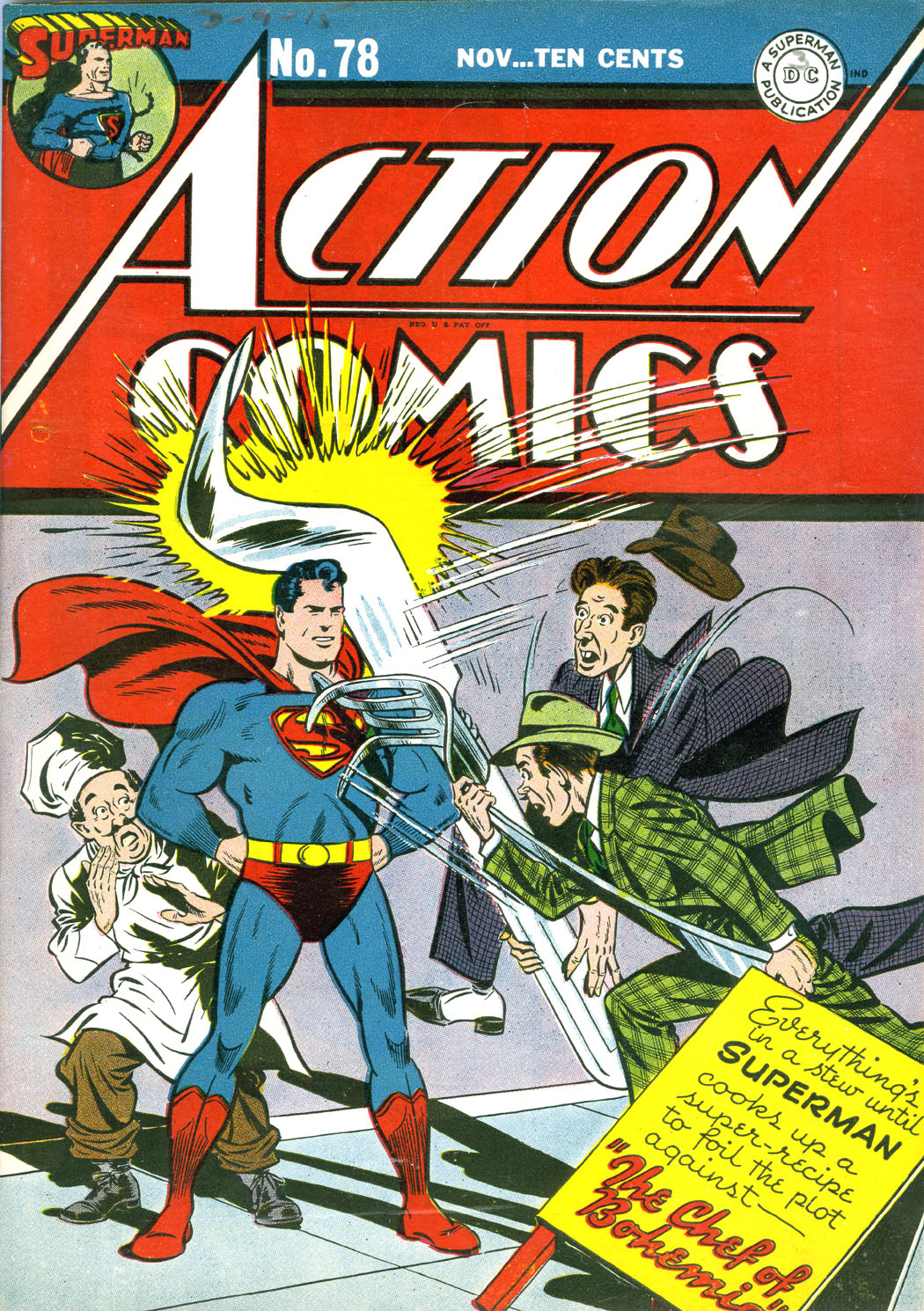 Read online Action Comics (1938) comic -  Issue #78 - 1