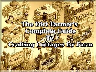Farmville Crafting Cottages Guide | Farmville Dirt Farmer