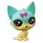 LPS Series 5 Lucky Pets Glow-in-the-Dark Eyes Moonstone (#No#) Pet