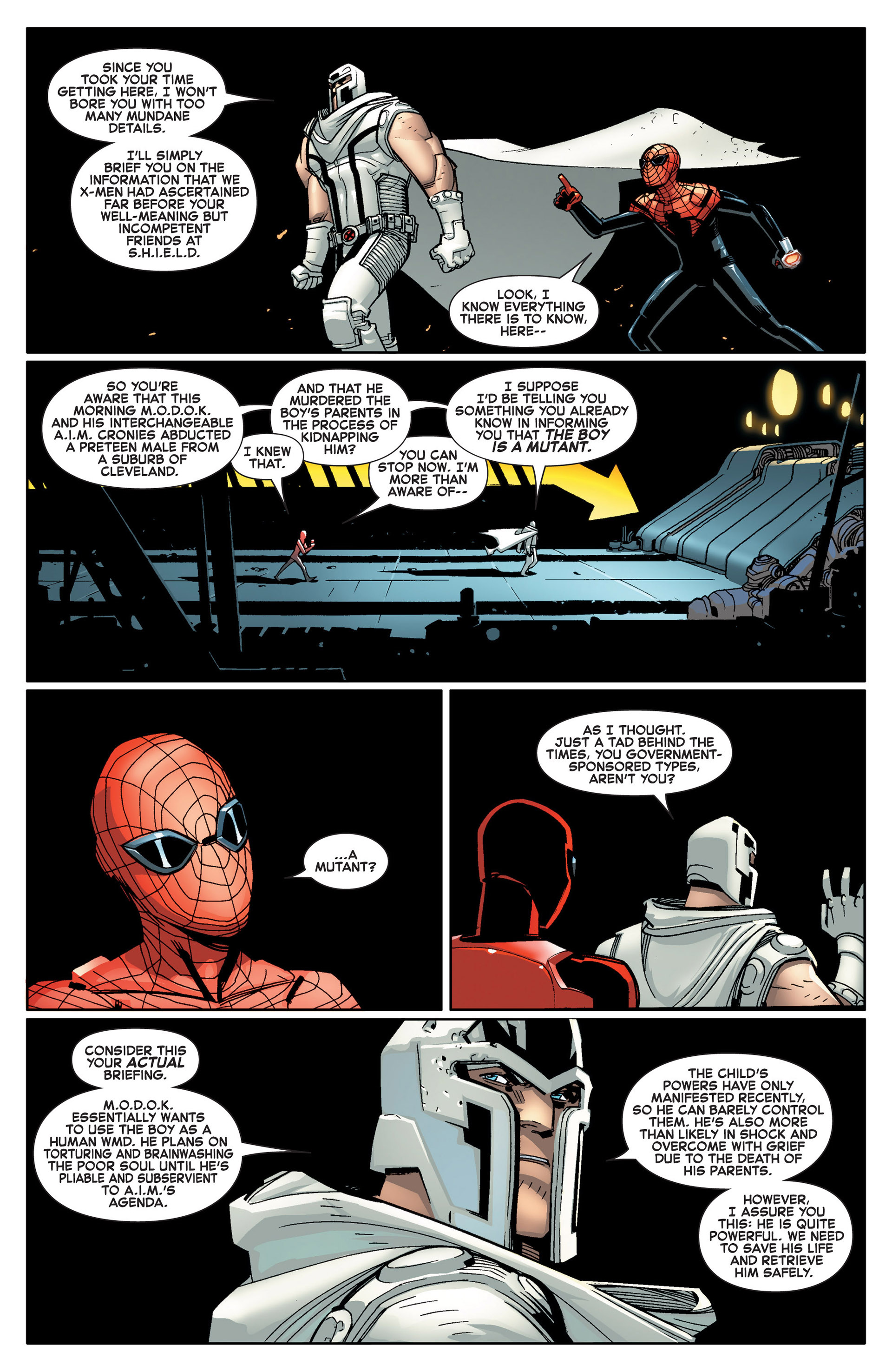 Read online A X comic -  Issue #14 - 5