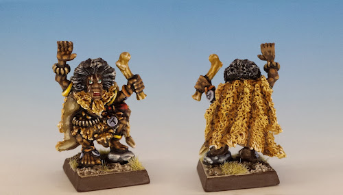 Talisman Witch Doctor, Citadel Miniatures (sculpted by Aly Morrison, 1986)