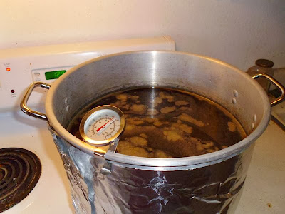 Bringing kettle to a boil