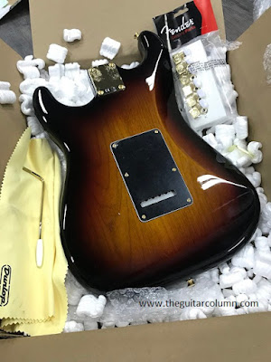 Fender Stevie Ray Vaughan body in 3-tone sunburst