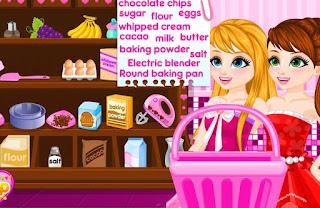 Permainan Memasak Kue Ulang Tahun Barbie