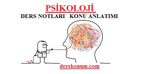 Psikoloji Ders Notlarikonu Anlatimi Pdf Indir Ders Kitabi Soru Ve