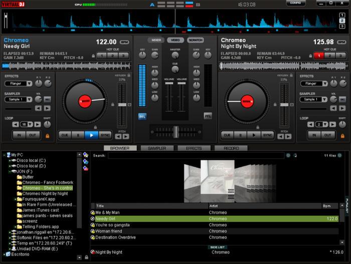 Virtual Dj pro v7 free download