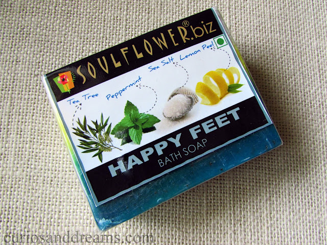 Soulflower Happy Feet Bath Soap review