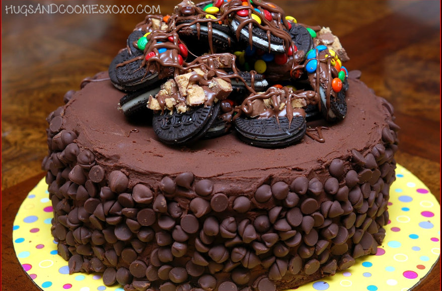 Two Layer Cake With One Pan