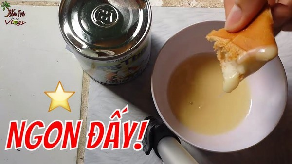 Ăn bánh mì chấm sữa thực đơn tăng cân mỗi sáng tăng 7 thậm chí 10kg