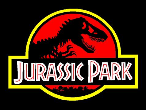Logotipo de la película Jurassic Park - Cine de Escritor