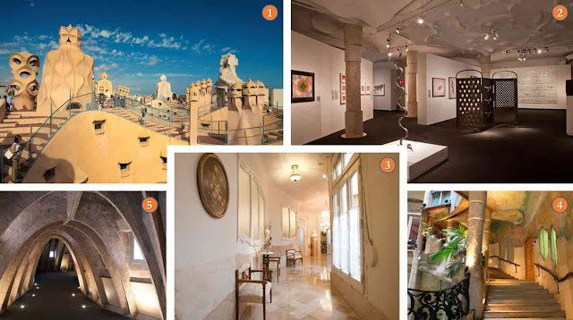 Things to see: Casa Mila Interior, Barcelona