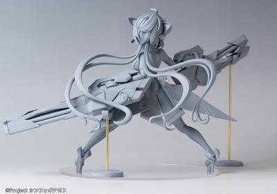 "Yukine Chris 1/7 de ""Senki Zesshou Symphogear GX"" - WING y Hobby Stock"