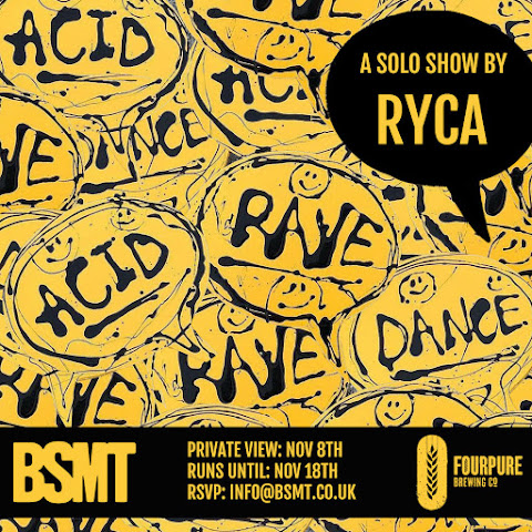 DANCE/ACID/RAVE Ryca solo show at BSMT Gallery