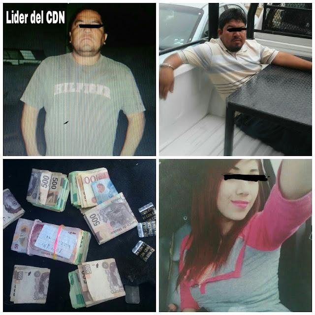 """CAE """"LA YAQUI"""", """"EL DIABLO"""" Y """"EL CHIVO"""" LÍDER DEL CDN EN NUEVO LEON"""
