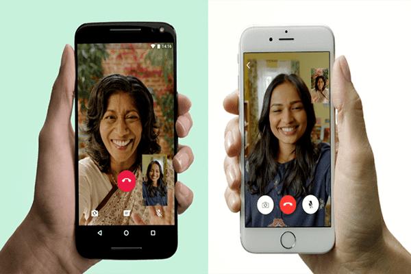 رسميا : واتس اب تعلن إطلاق ميزة الإتصال بالصوت و الصورة