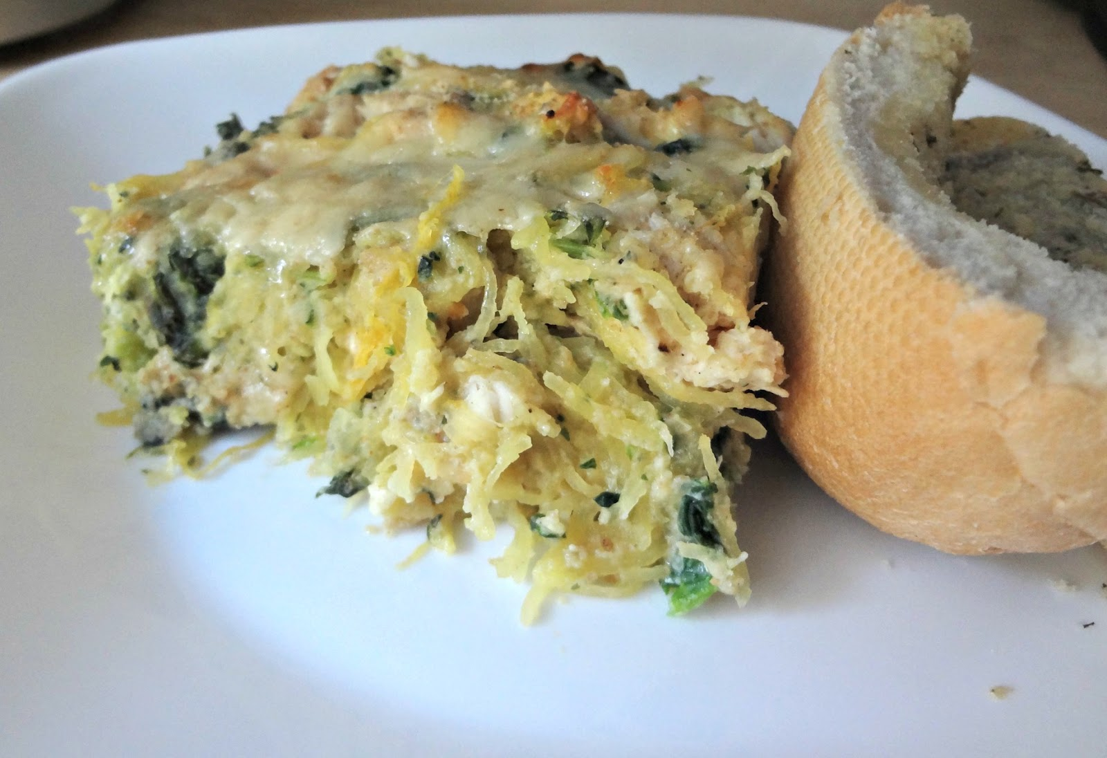 Attack Of The Hungry Monster Wiaw Baked Spaghetti Squash