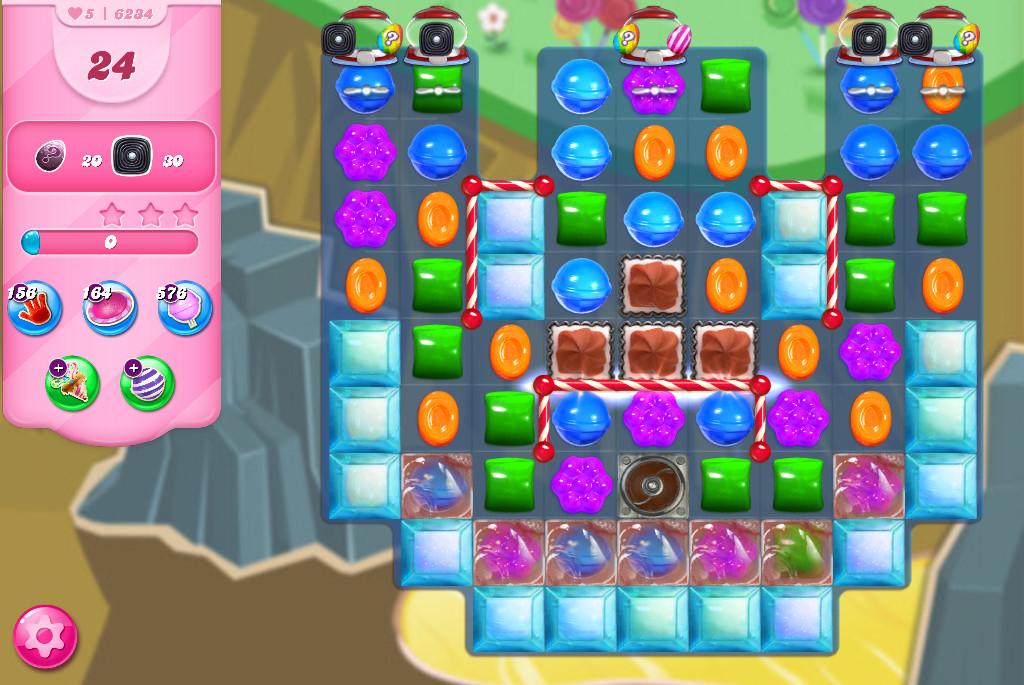 Candy Crush Saga level 6234