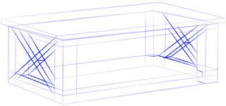 Cara Cepat dan Mudah Menggambar Meja Kopi