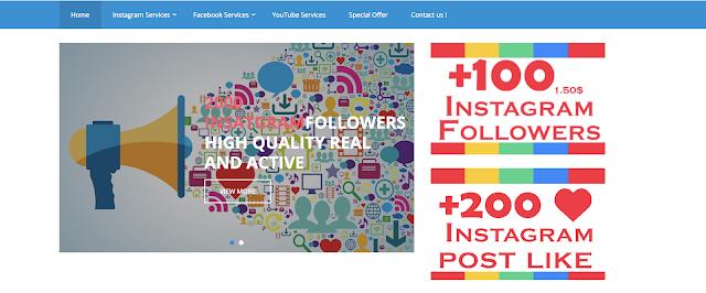 موقع موثوق يمنحك متابعين حقيقين لصفحاتك فيسبوك و انستغرام بالمجان + يمكنك شراء متابعين بأثمنة جد مناسبة