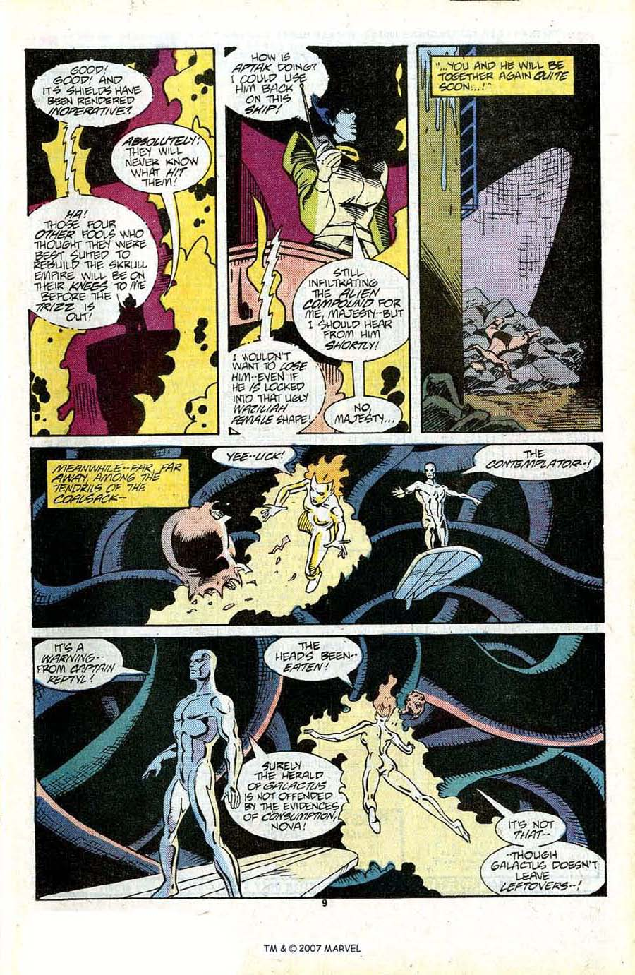Read online Silver Surfer (1987) comic -  Issue #13 - 11