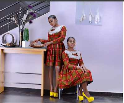 Twins Sisters, Actresses Chidimma & Chidiebere Aneke Honored In USA